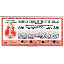 Public Schools of the City of Cadillac Scrip