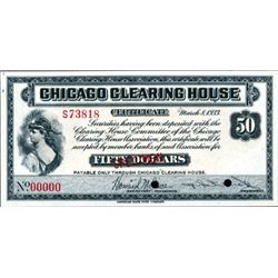 Chicago Clearing House Depression Scrip