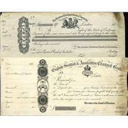 Australia Australian Proof Exchanges and Receipts