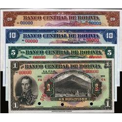 Bolivia El Banco Central De Bolivia.