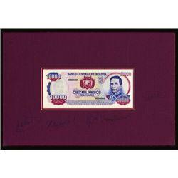 Banco Central De Bolivia Original Artwork