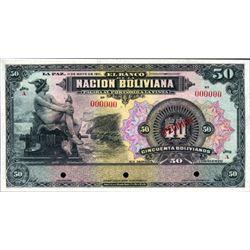 El Banco De La Nacion Boliviana- Essay Specimen