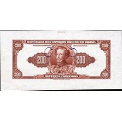 Brazil Banknote Hodge-Podge.