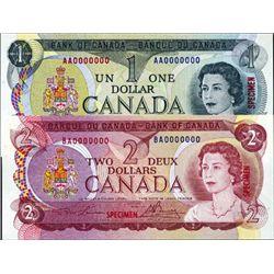 Ottawa. Canada Bank of Canada Specimen Banknotes