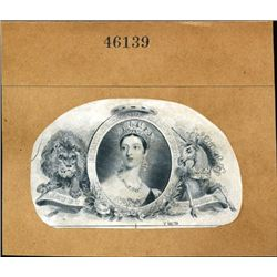 Queen Victoria Proof Vignettes From Stamps & BN's
