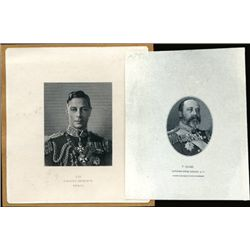 Canada; England King George V and VI Proof Vignet