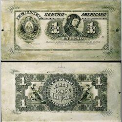 El Banco Centro-Americano Unique Printing Plate
