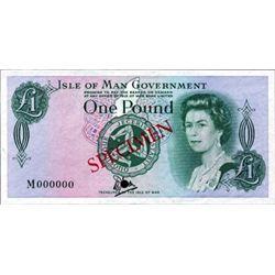 Isle of Man Government Tyvek (Bradvek) Note