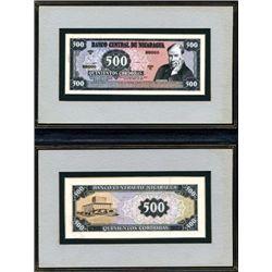 Banco Central De Nicaragua Original Artwork Model