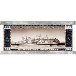 Banco Central Del Paraguay Original Artwork Model