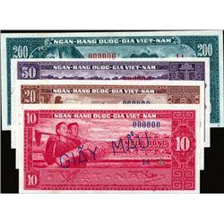 National Bank of Vietnam Specimens (4)