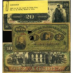 South America Spurious Banknote Assortment fro
