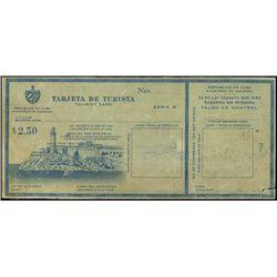 Rep. De Cuba Tarjeta De Turista, Tourist Card Pro