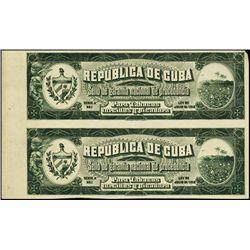 Cuba. Republica De Cuba. Cigar Tax Paids Proofs