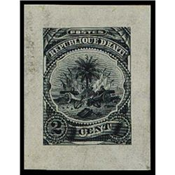 Haiti. Coat of Arms Issue Essay Proof.