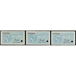 Martinique.  Rev. Assortment, Timbre Fiscal Spec.