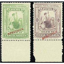 Peru. Postage Due, 1899 Series Liberty Seated.