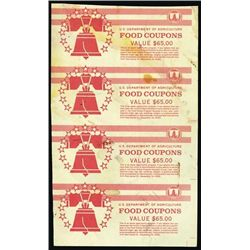 U.S. Dep. of Agric Food Coupons Cover Spec. #4