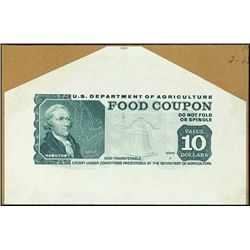 U.S. U.S.Department of Agriculture - Food Coupon.