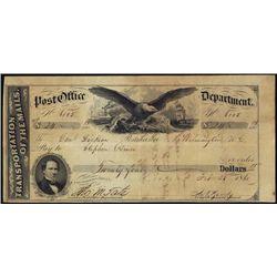 U.S.  Post Office Department Warrants.