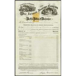 U.S. Revenue Stamps Insurance Policy - RN-T6.