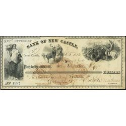 U.S. Kentucky. Bank of New Castle.