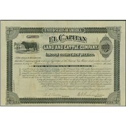 New Mexico. El Capitan Land and Cattle Company.