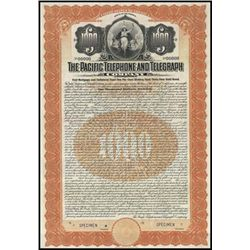 California. The Pacific Telephone and Telegraph C