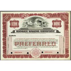Pennsylvania. Hankey Baking Company.