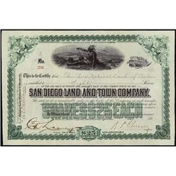California. San Diego Land and Town Company.