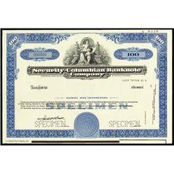 Security Printing Stock Certificate Assortment.