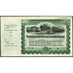 Alabama. Birmingham & Gulf Railway & Navigation C