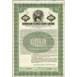 Alabama. Birmingham-Tidewater Railway Company.