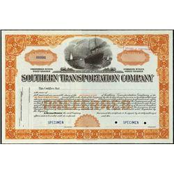 Delaware. Southern Transportation Company.