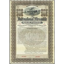 Mercantile Marine Organization Bond - J.P.Morgan
