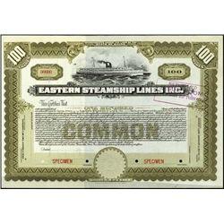 Maine. Eastern Steamship Lines Inc.