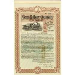 California. Sierra Railway Company of California.
