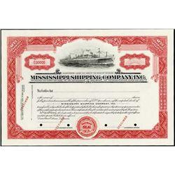 Mississippi. Mississippi Shipping Company, Inc.