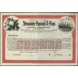 North Carolina. A. Sprunt & Son, Cotton Exporters