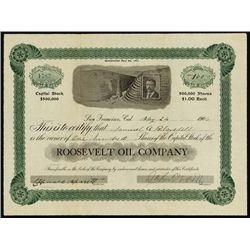 California. Roosevelt Oil Company.