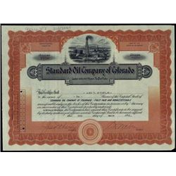 Colorado. Standard Oil Company of Colorado.