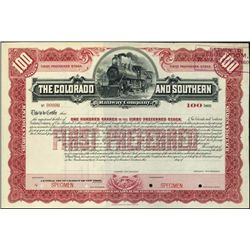Colorado. The Colorado and Southern Railway Co.
