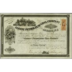 NY. Albany Petroleum & Coal Co. of Albany, N.Y..