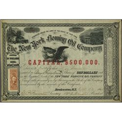 New York. The New York Flowing Oil Company.