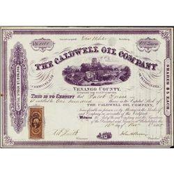Pennsylvania.  The Caldwell Oil Company.