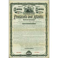 Florida. Pensacola and Atlantic Railroad Company.