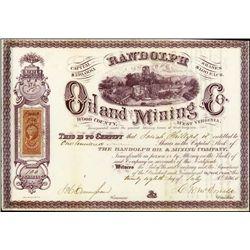 West Virginia.  Randolph Oil and Mining Company.