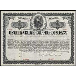 West Virginia. United Verde Copper Company.