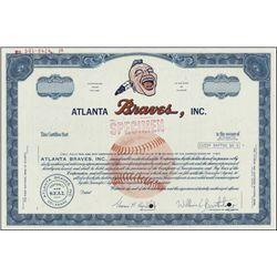 Georgia. Atlanta Braves, Inc. Specimen Stock