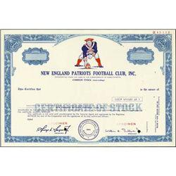New England Patriots Football Club Spec. stock
